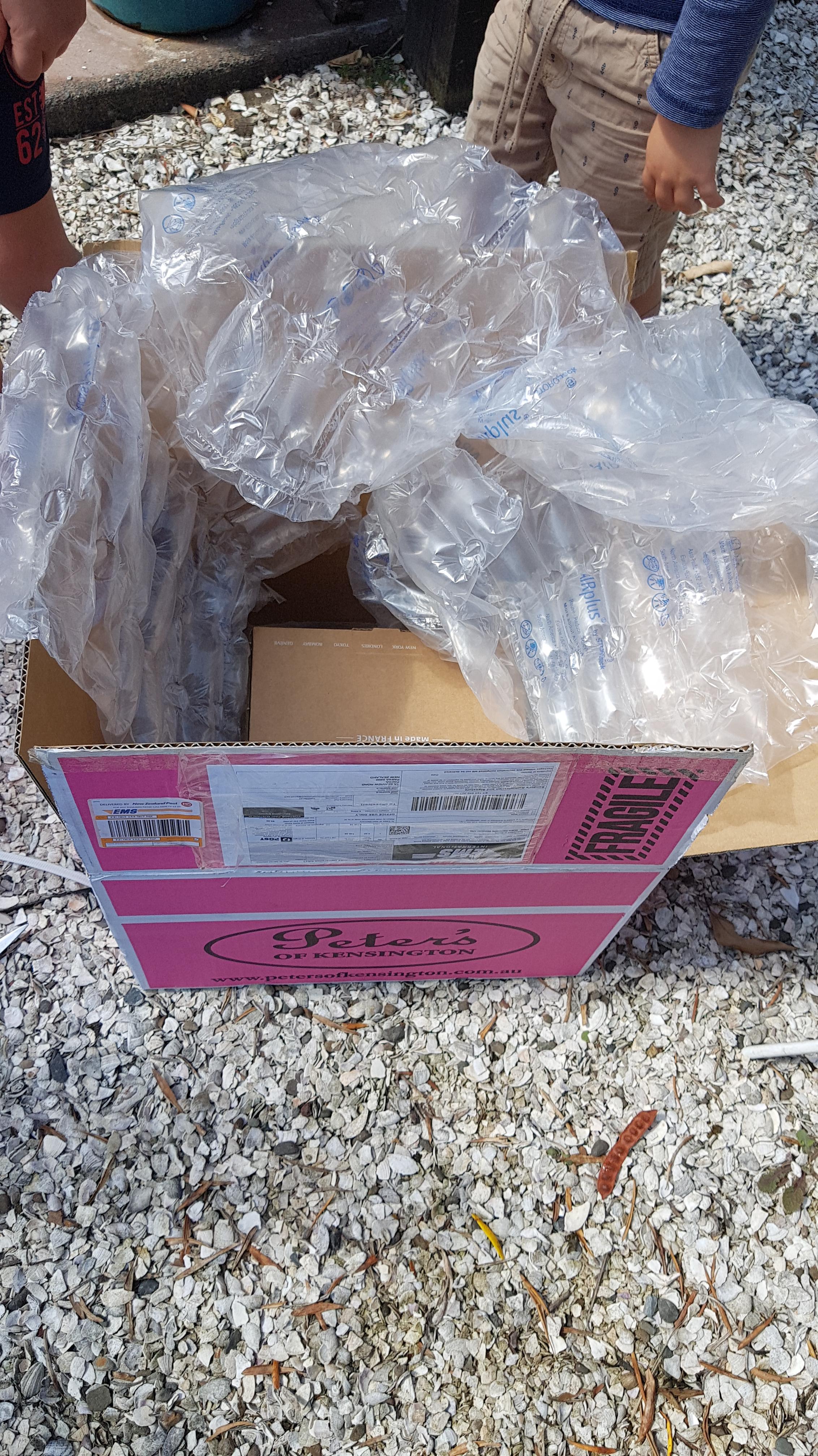Packaging Peters of Kensington Jan 2020